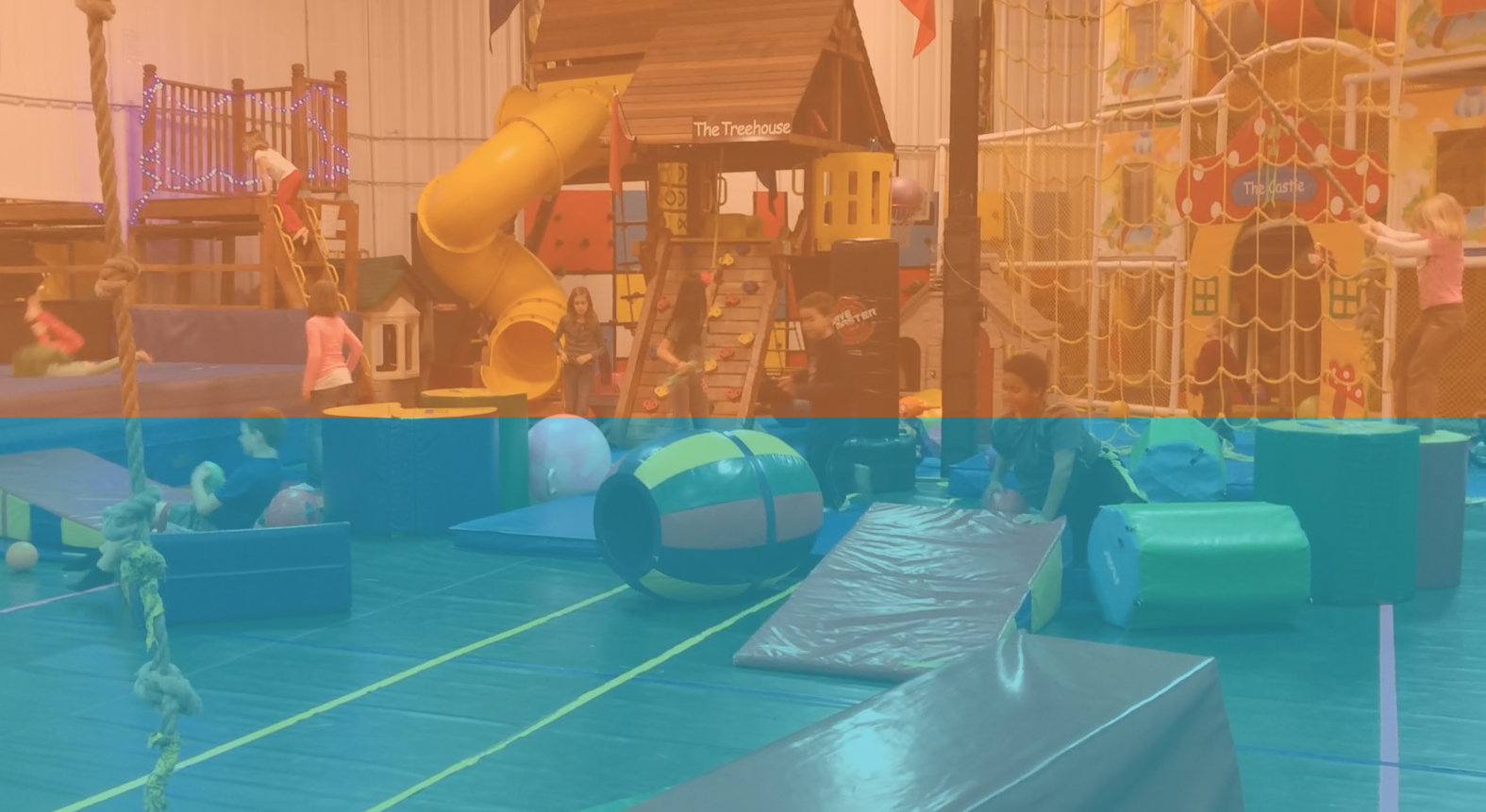 6,000 square foot indoor playground in Madison, WI. Fun for grade school aged children - Legacy Academy.